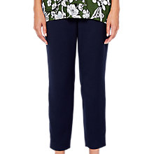 Buy Ted Baker Baya Side Stripe Trousers, Navy Online at johnlewis.com