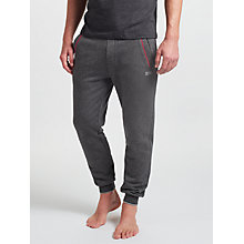 Buy BOSS Cuff Lounge Pants, Grey/Red Online at johnlewis.com