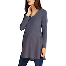 Buy Phase Eight Seraphina Top, Grey Online at johnlewis.com