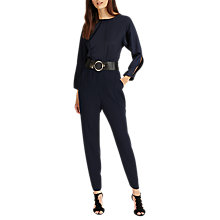 Buy Phase Eight Saphy Jumpsuit, Navy Online at johnlewis.com