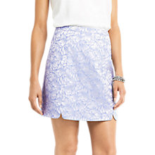 Buy Oasis Jacquard Mini Skirt, Multi/Blue Online at johnlewis.com
