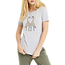 Buy Oasis London Zoo Giraffe T-Shirt, Multi Online at johnlewis.com