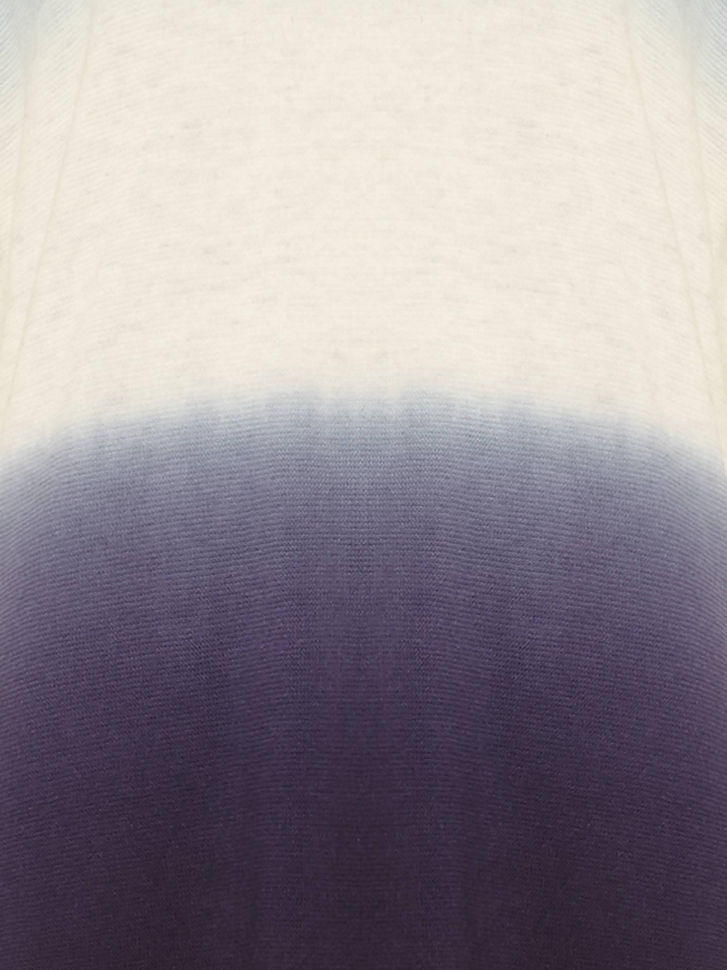 e65b88f34d8 Phase Eight Lynda Dip Dye Knitted Jumper, Blue/Ivory at John Lewis ...