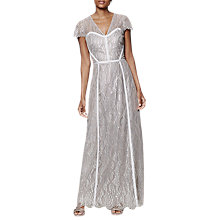 Buy Phase Eight Collection 8 Hali Lace Dress, Silver Online at johnlewis.com