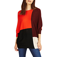 Buy Phase Eight Becca Colour Block Jumper, Multi Online at johnlewis.com