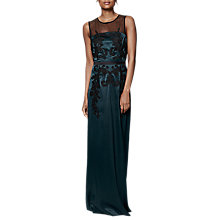 Buy Phase Eight Collection 8 Gallia Embellished Dress, Green Online at johnlewis.com