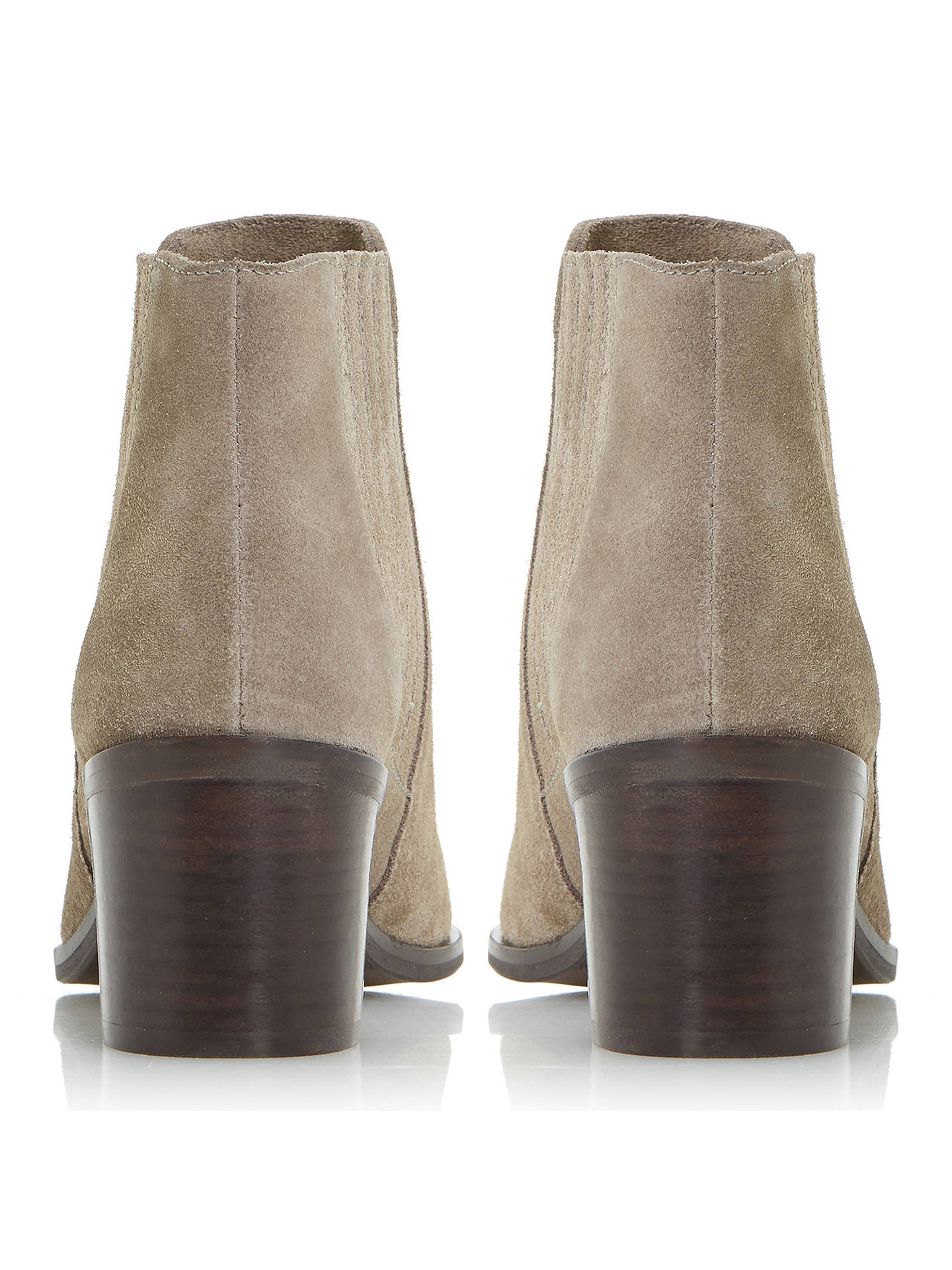 2f68b8df75e Dune Peter Block Heeled Ankle Chelsea Boots at John Lewis & Partners