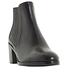 Buy Dune Peter Block Heeled Ankle Chelsea Boots Online at johnlewis.com