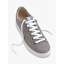 Buy Mint Velvet Andi Lace Up Trainers, Grey Online at johnlewis.com