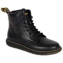 Buy Dr Martens Malky Boots, Black Online at johnlewis.com