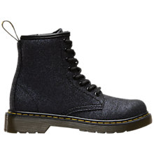 Buy Dr Martens Delaney Boots, Black Glitter Online at johnlewis.com
