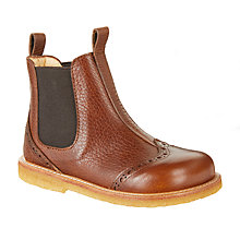 Buy ANGULUS Children's Chelsea Boots, Tan Online at johnlewis.com