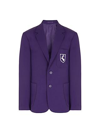 Daiglen Unisex School Blazer, Purple