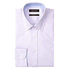 Buy Jaeger Mini Textured Cotton Dobby Regular Fit Shirt, Lilac Online at johnlewis.com