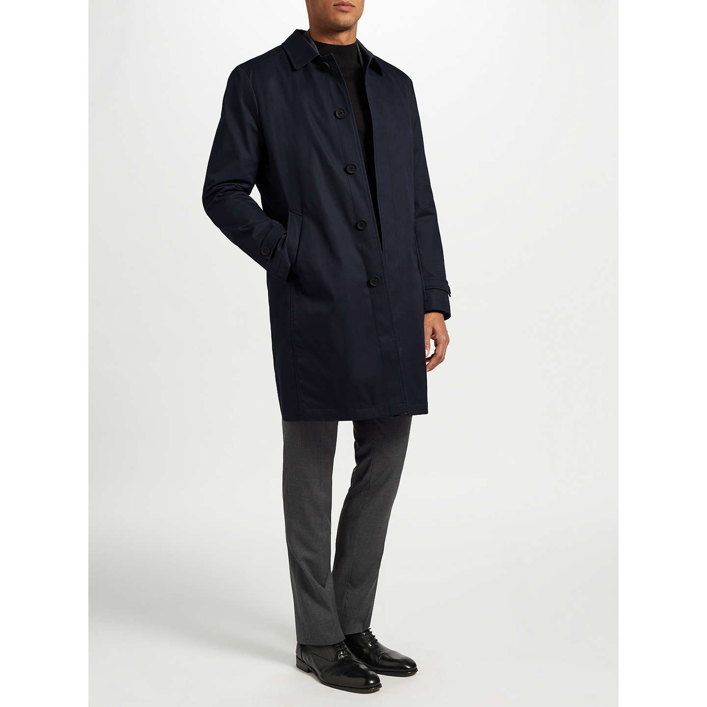 BuyGuards London City Mac, Navy, 36R Online at johnlewis.com
