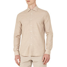 Buy Reiss Stefan Melange Weave Slim Fit Shirt Online at johnlewis.com