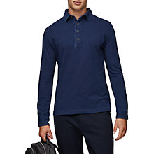 Buy Reiss Mitchel Polo Shirt, Indigo Online at johnlewis.com