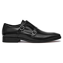 Buy Reiss Filmore Double Monk Strap Shoes Online at johnlewis.com