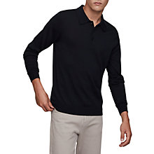 Buy Reiss Trafford Merino Wool Polo Shirt Online at johnlewis.com