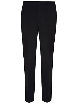 Hackett London Regular Fit Dress Suit Trousers, Black