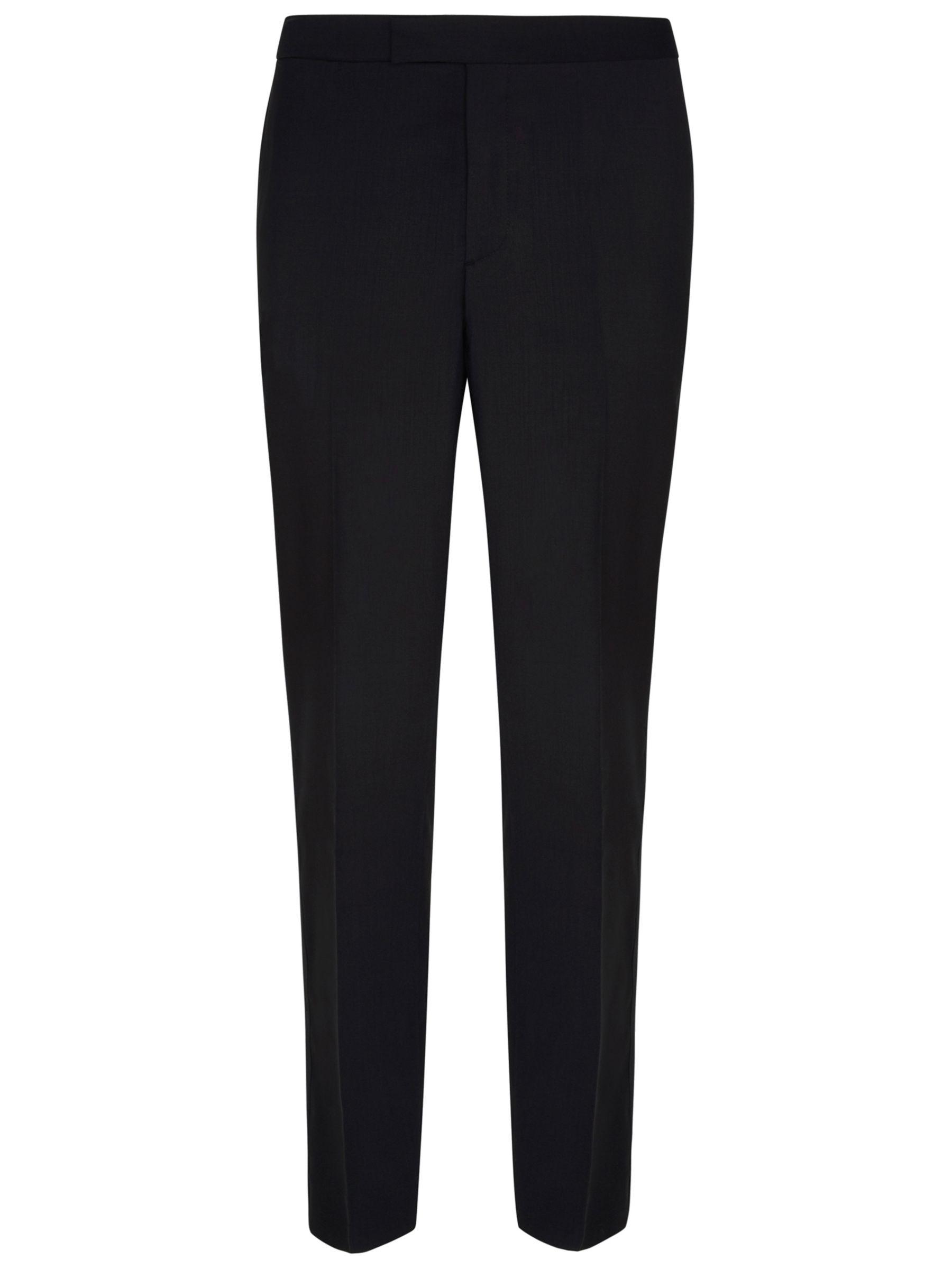 Hackett London Hackett London Regular Fit Dress Suit Trousers, Black