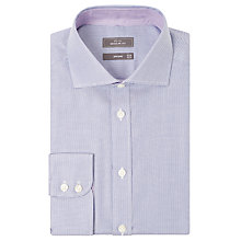 Buy John Lewis Non Iron Semi Plain Regular Fit Shirt Online at johnlewis.com