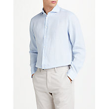 Buy John Lewis Linen Regular Fit Shirt Online at johnlewis.com