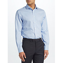 Buy John Lewis Non Iron Gingham Tailored Fit Shirt Online at johnlewis.com