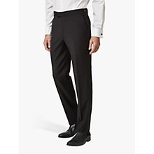 Buy Chester by Chester Barrie Wool Mohair Slim Fit Dress Suit Trousers, Black Online at johnlewis.com