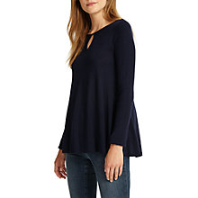 Buy Phase Eight Amelia Swing Jumper, Navy Online at johnlewis.com