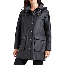 Buy Four Seasons Waxed Jacket, Anthracite Online at johnlewis.com