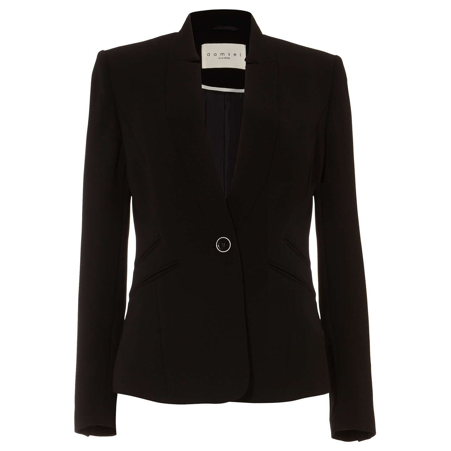 BuyDamsel in a Dress City Suit Jacket, Black, 8 Online at johnlewis.com