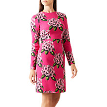 Buy Hobbs Bea Dress, Magenta Online at johnlewis.com