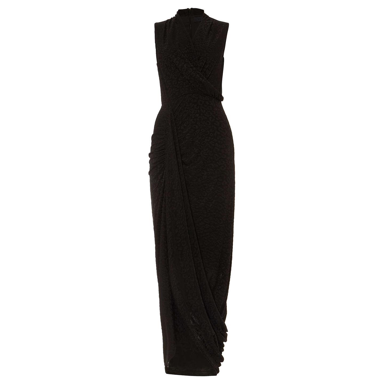 Damsel In A Dress Kelsie Dress Black At John Lewis: Damsel In A Dress Flora Jacquard Maxi Dress, Black At John