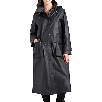 Four Seasons Waxed Coat, Anthracite