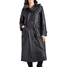 Buy Four Seasons Waxed Coat, Anthracite Online at johnlewis.com