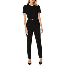 Buy Damsel in a dress City Suit Jumpsuit, Black Online at johnlewis.com