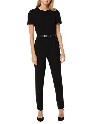 Damsel in a Dress City Suit Jumpsuit, Black