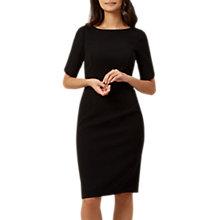 Buy Hobbs Caitlyn Dress, Black Online at johnlewis.com