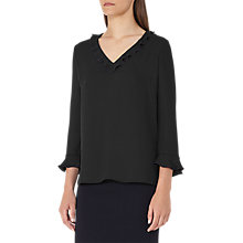Buy Reiss Kelis Overlock Blouse Online at johnlewis.com