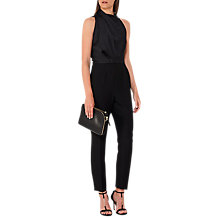 Buy Reiss Kita Lace Back Jumpsuit Online at johnlewis.com