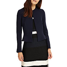 Buy Phase Eight Naomi Peplum Jacket, Navy Online at johnlewis.com