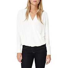 Buy Damsel in a dress Tabi Soft Blouse, Ivory Online at johnlewis.com