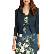 Buy Phase Eight Yani Jacket, Deep Lagoon Online at johnlewis.com