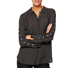 Buy Mint Velvet Button Shirt Online at johnlewis.com