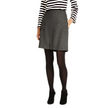 Buy Phase Eight Bernina Pocket Skirt, Grey Online at johnlewis.com