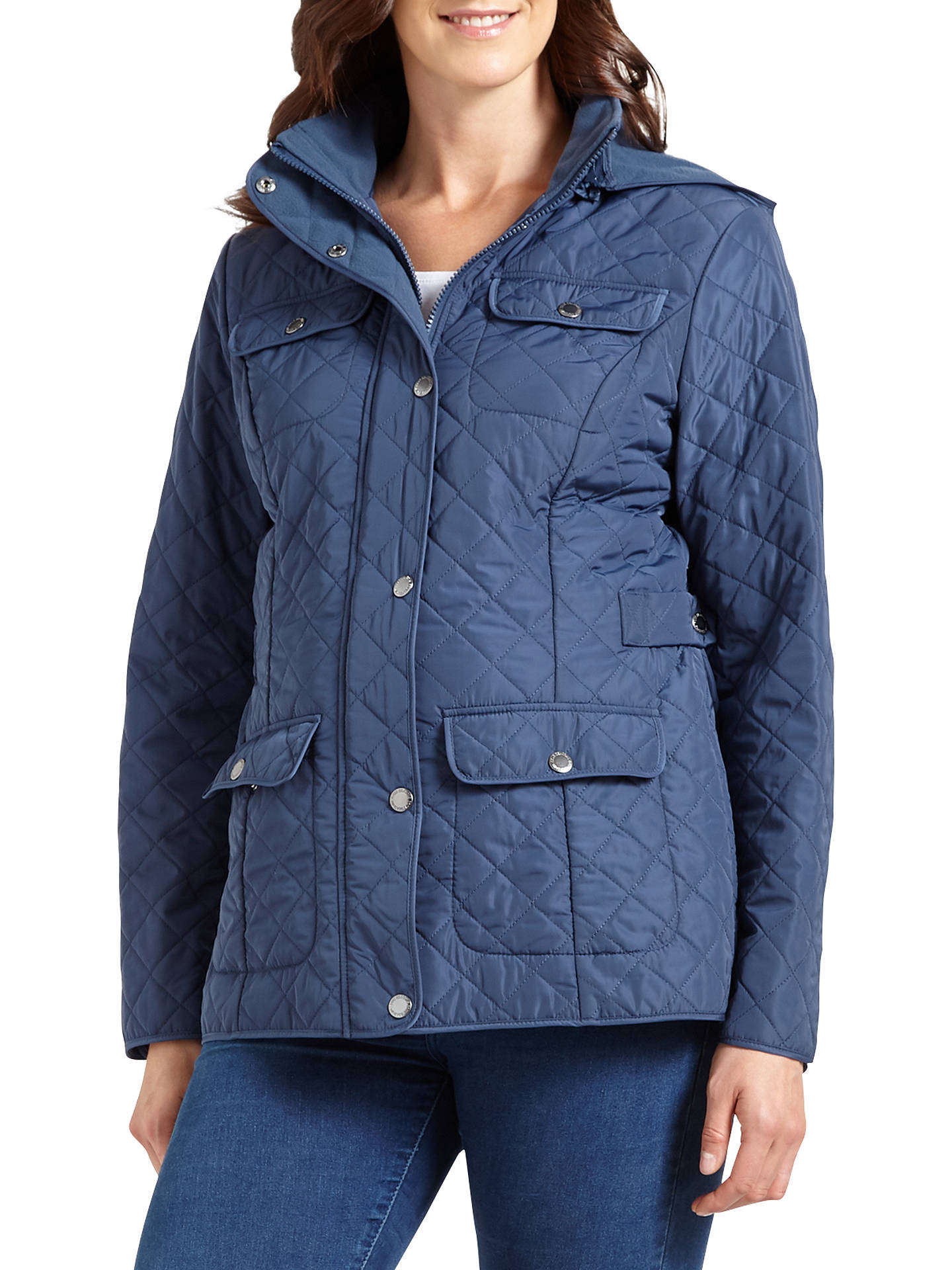 8a04b0b6818 Four Seasons Polar Quilted Fleece Jacket at John Lewis   Partners