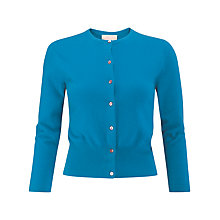 Buy Pure Collection Cropped Cashmere Cardigan Online at johnlewis.com