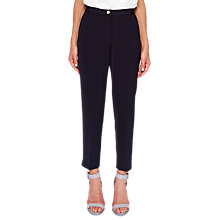 Buy Ted Baker Ottoman Skinny Cigarette Trousers, Navy Online at johnlewis.com