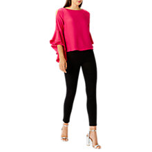 Buy Coast Ella Mae Top, Pink Online at johnlewis.com